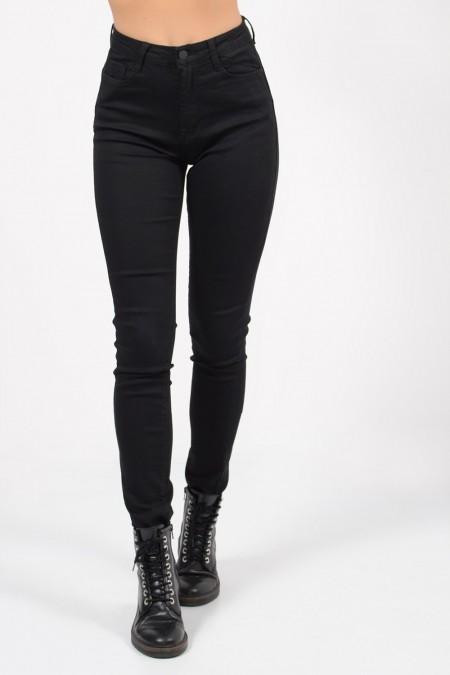 High Rise Trousers - Black