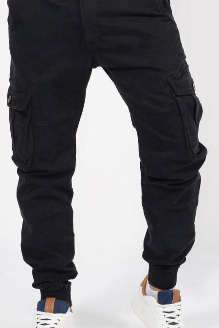 Παντελόνι Cargo - Μαύρο