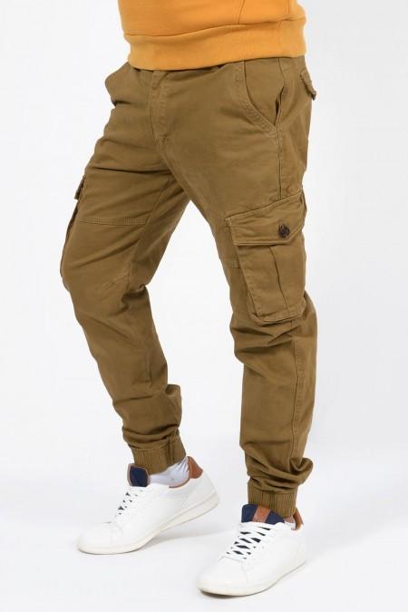Παντελόνι Cargo - Καμηλό