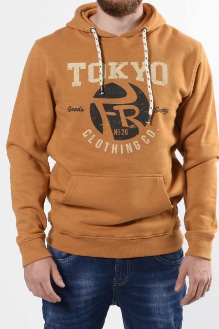 Sweatshirt Tokyo - Mustard