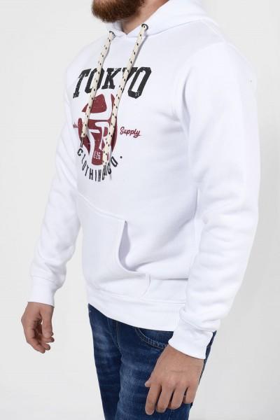Sweatshirt Tokyo - White