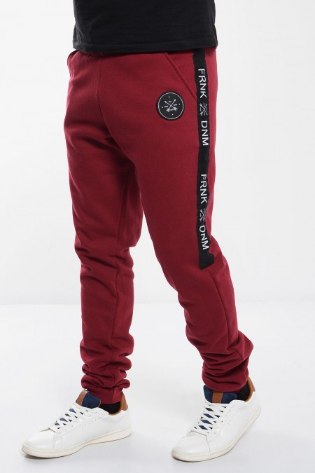 Sweatpants - Dark Red