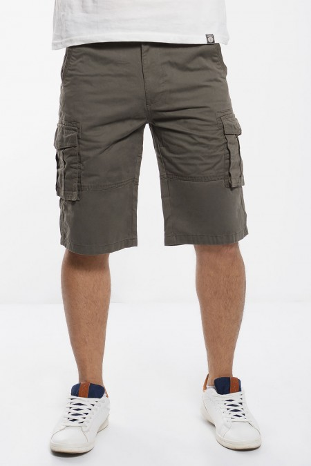 Cargo Shorts -  Olive Green
