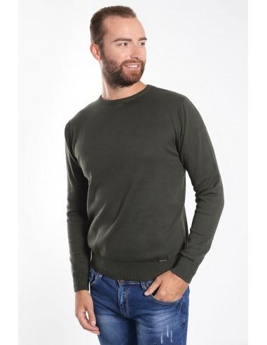 Λεπτή ανδρική μπλούζα γκρι